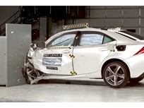 Lexus IS Wins IIHS Top Safety Pick+ Award