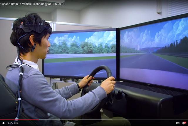 nissan develops brain to vehicle technology groupement adas advanced driver assistance systems. Black Bedroom Furniture Sets. Home Design Ideas