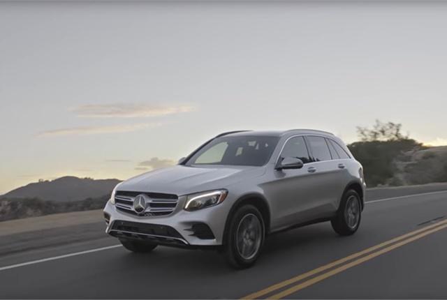 Screen shot courtesy of Mercedes-Benz via YouTube.