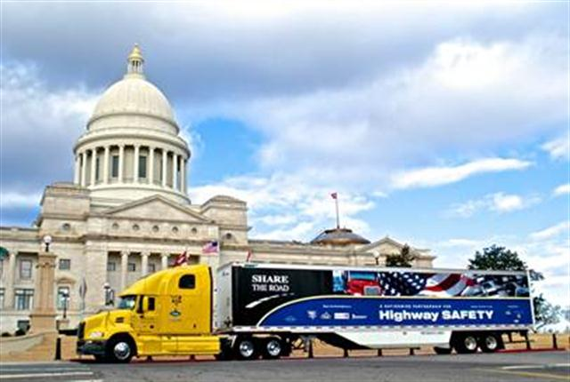 Mack Trucks will continue to sponsor the Share the Road highway safety education program in 2014.