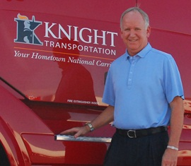 Kevin Knight, Knight Transportation, chairman and CEO. Photo: Knight Transportation