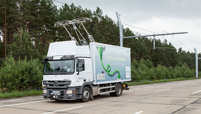 Siemens already is testing an e-highway system in Europe. Photo: Siemens