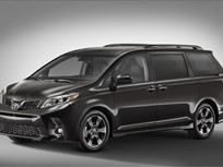 2018 Toyota Sienna Adds Standard Safety Package