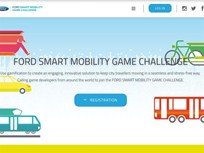 Ford Offers Global Mobility Gamification Challenge