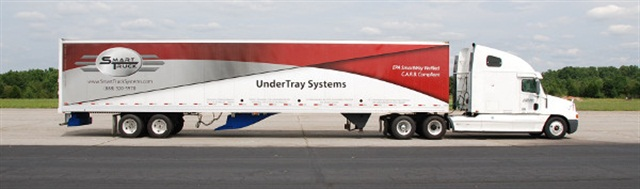 SmartTruck said a recent third-party computational fluid dynamics study conducted by CD-adapco showed SmartTruck's UT6 trailer aerodynamics system reduces drag by more than 10%, translating into highway fuel savings of approximately 7%