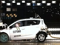 2012 Chevrolet Sonic Draws 5-Star Safety Rating