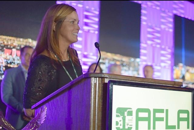 Photo of Sonya Garrepy, the 2017 Fleet Visionary of the Year, by Eric Gandarilla.