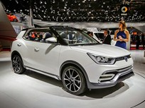 SsangYong Launches Compact SUV Tivoli