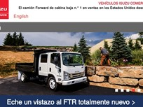 Isuzu Launches Spanish Version of Commercial Website