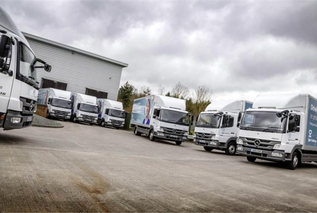 Spire Healthcare has added seven new Mercedes-Benz Atego's to its delivery fleet.