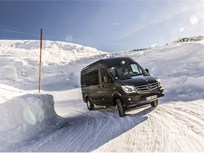 Mercedes-Benz Introduces Sprinter 4x4 In Europe