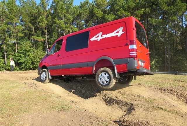 Sprinters now come in a 4x4 version. Photo: Tom Berg