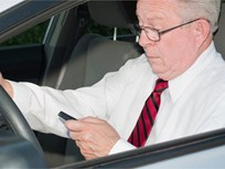 Smartphone Use a Growing Temptation for Older Drivers