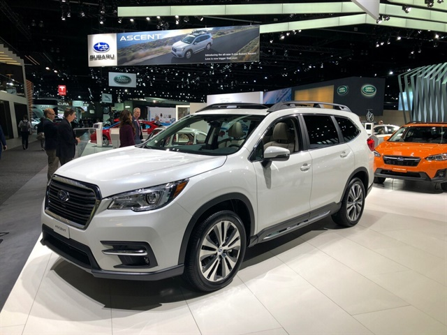 subaru debuts three row suv ascent top news vehicle research top news automotive fleet. Black Bedroom Furniture Sets. Home Design Ideas