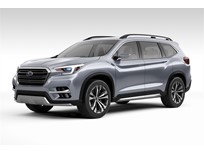 Subaru Names Three-Row SUV Ascent