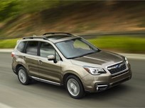 2017 Subaru Forester Upgrades Driver-Assist Tech