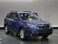 Subaru Unveils All-New 2014 Forester at LA Auto Show