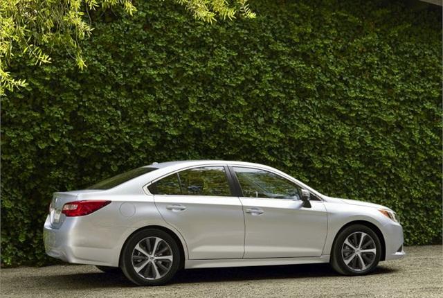 Photo of 2015 Legacy courtesy of Subaru.