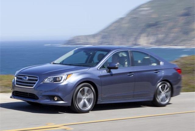 Photo of 2016 Legacy courtesy of Subaru.