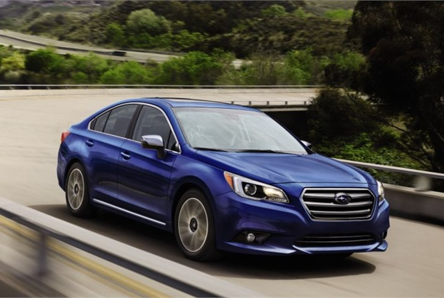 Photo of 2017 Legacy courtesy of Subaru.