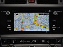 Subaru Adds Traffic Data to Navigation System