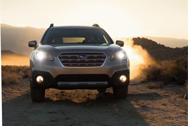 Photo of 2015 Outback courtesy of Subaru.