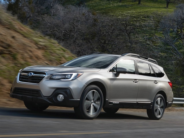 Photo of 2018 Outback courtesy of Subaru.
