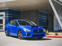 2016 Subaru WRX Draws Top Safety Rating