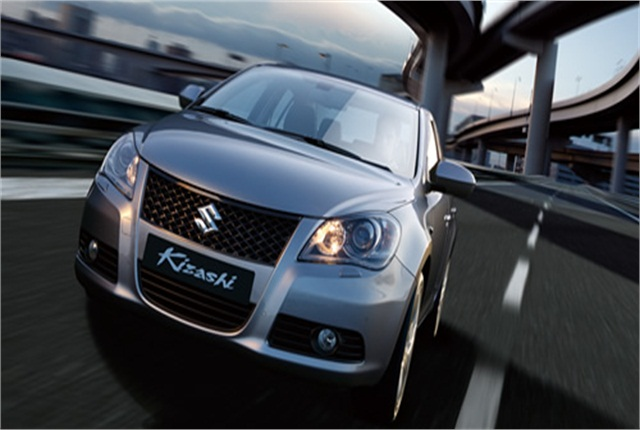 Photo of Suzuki Kizashi courtesy of Suzuki.