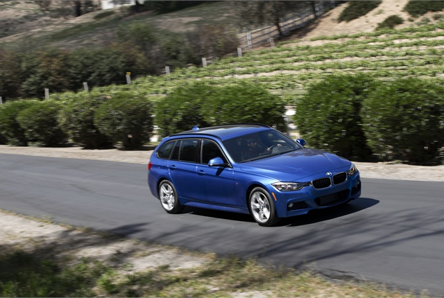 Photo of BMW 328d courtesy of BMW.