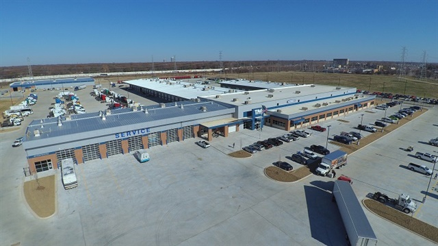 <p><strong>Tag's new 190,000-square-foot Freightliner dealership in Memphis, Tennesee, features a new and used truck sales center, a parts and service center, a parts distribution center, a full body shop, and the Tag Technical Institute.</strong> <em>Photo: Daimler</em></p>