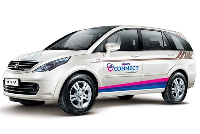 Photo of SVLL Connect's Aria courtesy of Tata Motors.