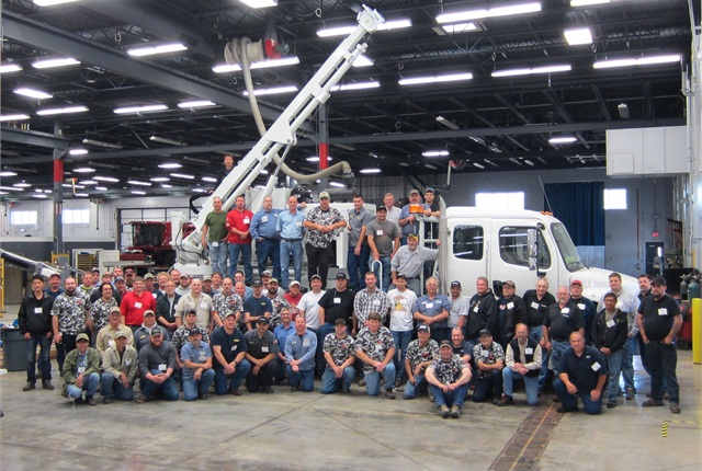 Terex' June 2013 service school