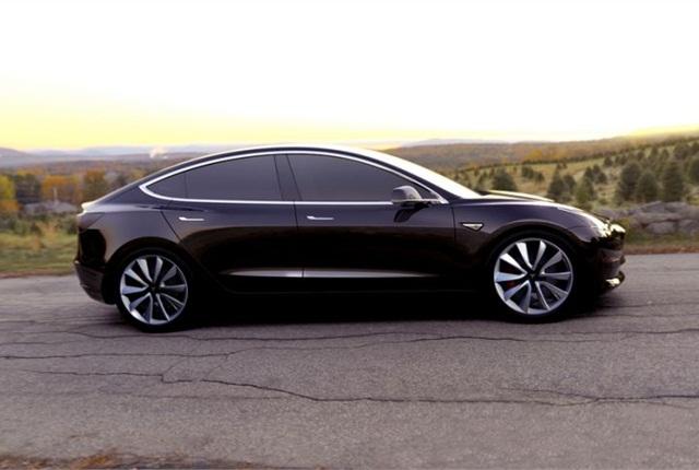 Photo of Model 3 courtesy of Tesla Motors.