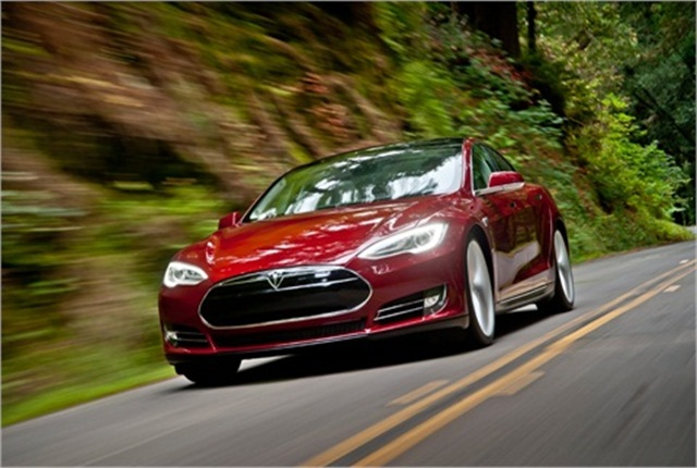Tesla Model S Signature. Photo: Tesla Motors.