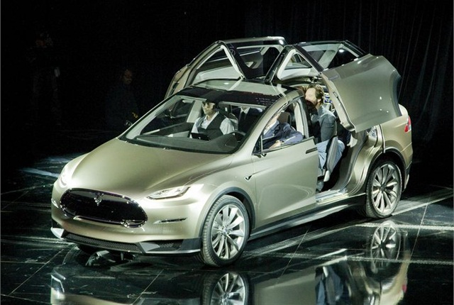 Tesla's Model X was unveiled in mid-2012. Photo via Tesla.