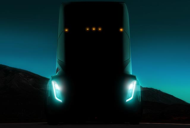 Based on emails obtained by Reuters, it appears Tesla's new electric truck will have some autonomous and platooning capabilities. Photo: Tesla