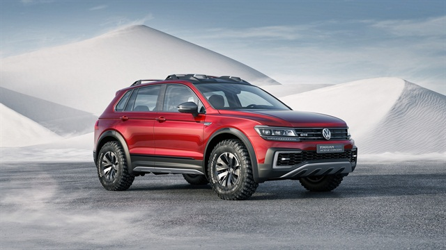 Photo of Tiguan GTE Active Concept courtesy of Volkswagen.