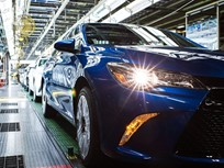 Toyota Built 2M Vehicles in North America in '16