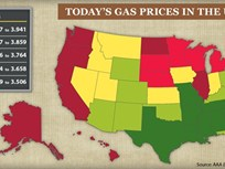Regional Gas Price Highs Persist Despite Overall Drops, Diesel Headed Upward