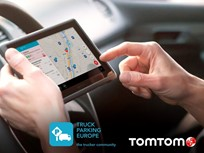 TomTom Offers Europe Truck Parking App
