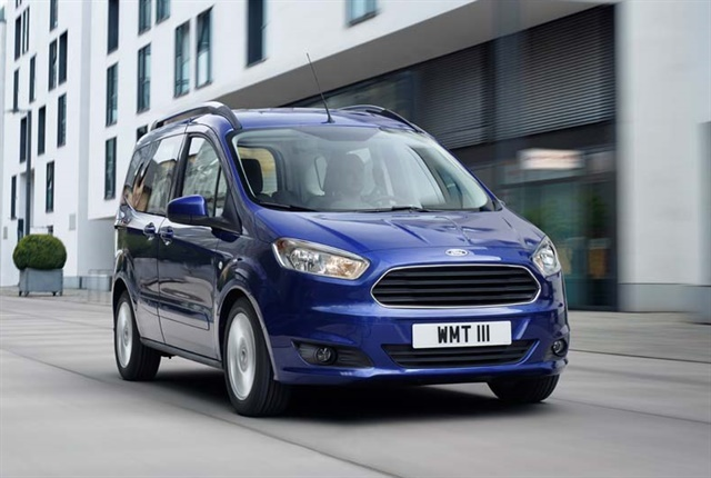 Photo of the Ford Tourneo Courier courtesy of Ford of Europe.