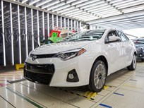 Leading Toyota Corolla Plant Builds 500,000th Car