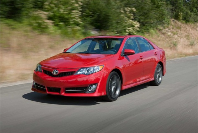 Photo of 2012-2014 Camry courtesy of Toyota.