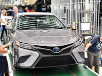 Toyota Begins 2018 Camry Production