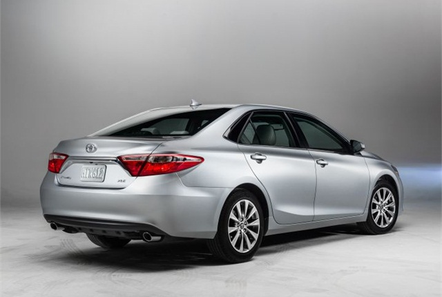 Photo of 2015 Camry courtesy of Toyota.