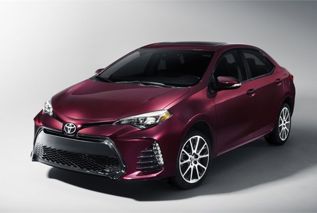 Photo of 2017 Corolla courtesy of Toyota.