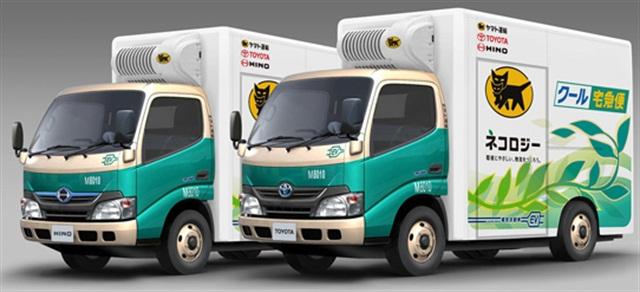 Hino small EV Truck