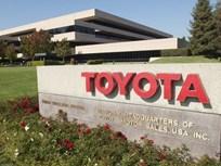 Toyota Fleet Sales Fell 9% In '13