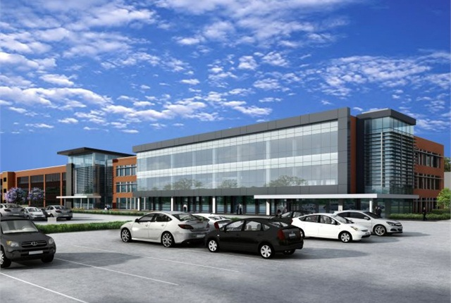 Rendering of ToyotaTechnical Center's supplier center courtesy of Toyota.